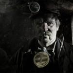 Portrait de mineur de charbon ukrainien. Région de Donetsk. Photo Youry Bilak.