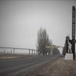 Entrée de la ville de Vougledar. Ville de mineur à l'est de l'Ukraine. Région de Donetsk. PHot Youry Bilak.