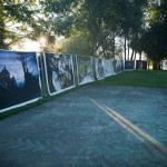 Festival photo de barro. BarrObjectif. Youry Bilak, exposition en plein air en grand format. Houstouls ukrainiens