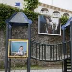 Festival photo de Dax, exposition de Youry Bilak sur les remparts. Mariage chez les houtsouls