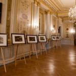 Exposition de photos du Maïdan à l'hôtel de Talleyrand, place de la Concorde. 1
